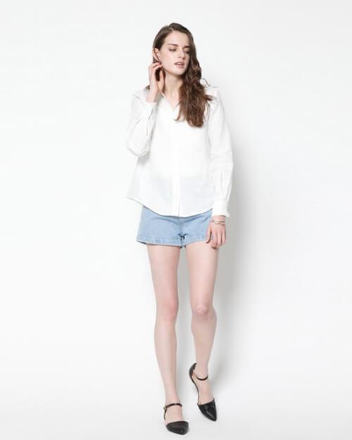 オフィスカジュアル シャツ