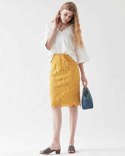 オフィスカジュアル スカート