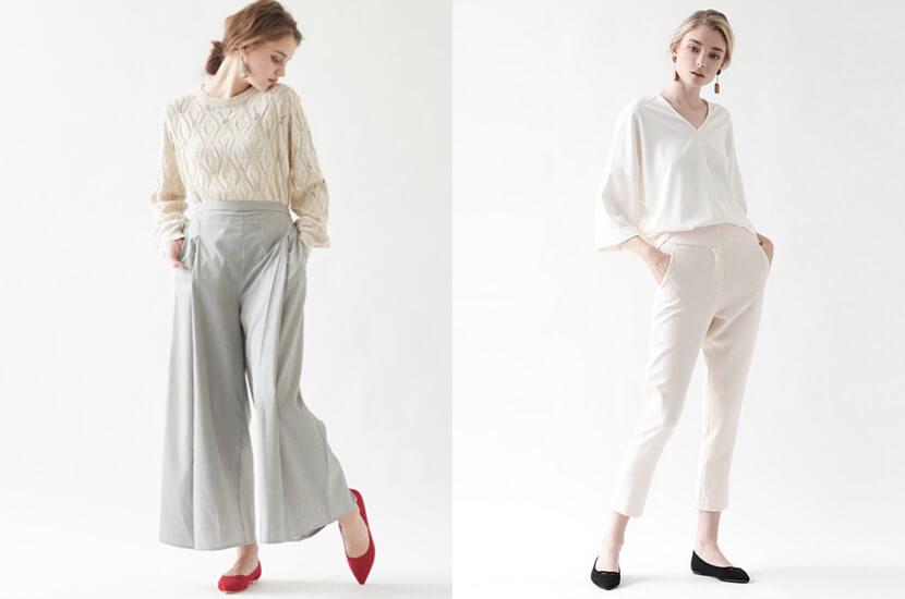 体型に合う『パンツ』選びを。オフィスカジュアルをお洒落に着こなす